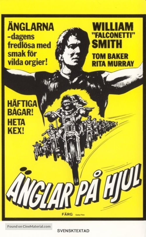 Angels Die Hard - Swedish VHS movie cover