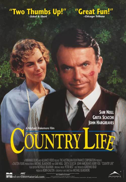 Country Life - Canadian Movie Poster