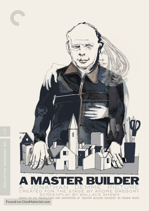 A Master Builder - DVD movie cover