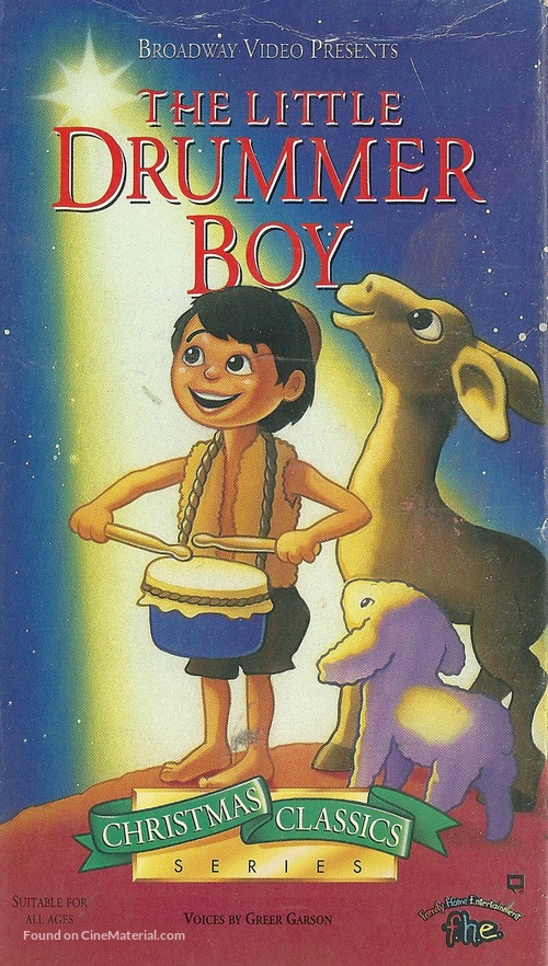 The Little Drummer Boy - VHS movie cover