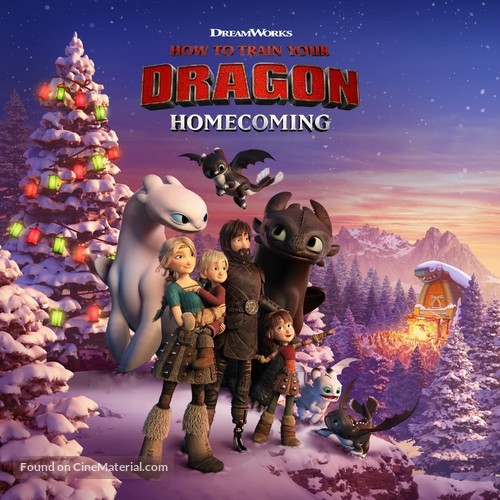 How to Train Your Dragon Homecoming - Movie Cover