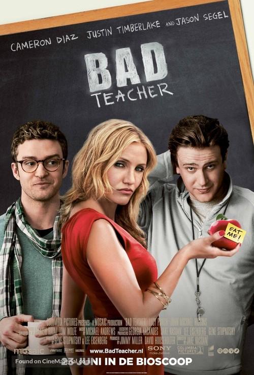 Bad Teacher - Dutch Movie Poster
