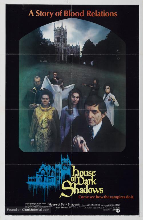 House of Dark Shadows - Movie Poster