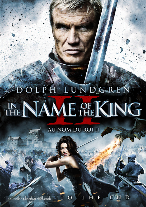 In the Name of the King: Two Worlds - Canadian DVD movie cover