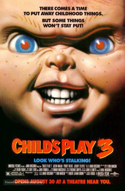 Child's Play 3 - Advance movie poster