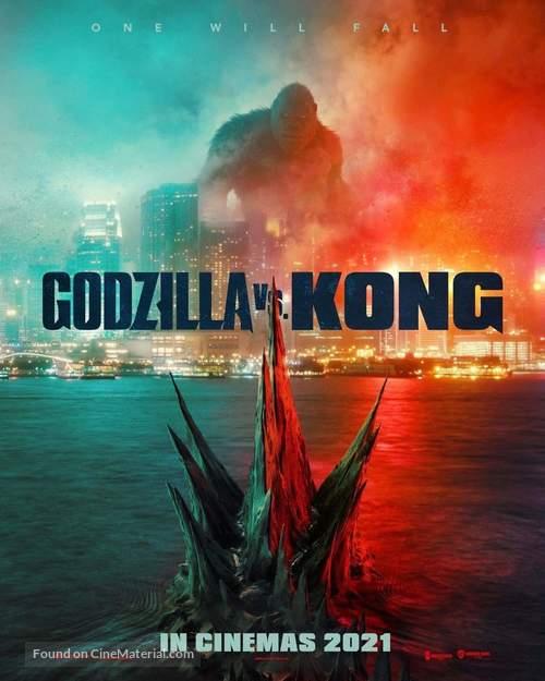 Godzilla vs. Kong - Singaporean Movie Poster
