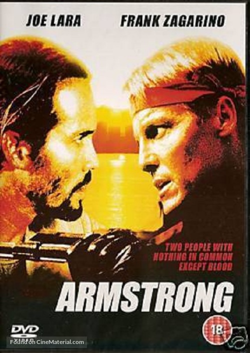 Armstrong - British DVD movie cover
