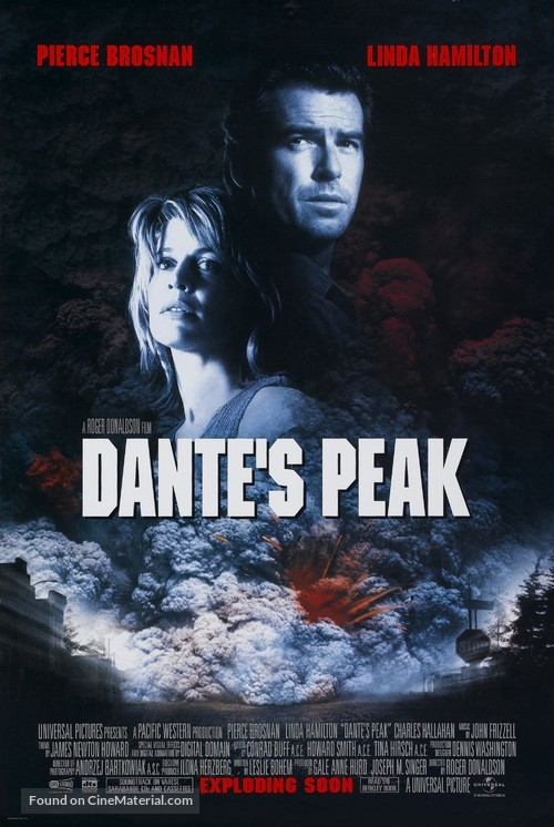 Dante's Peak - Movie Poster