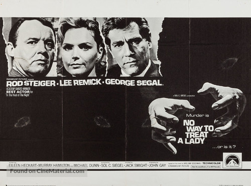 No Way to Treat a Lady - Movie Poster