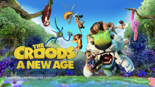 The Croods: A New Age - Movie Cover