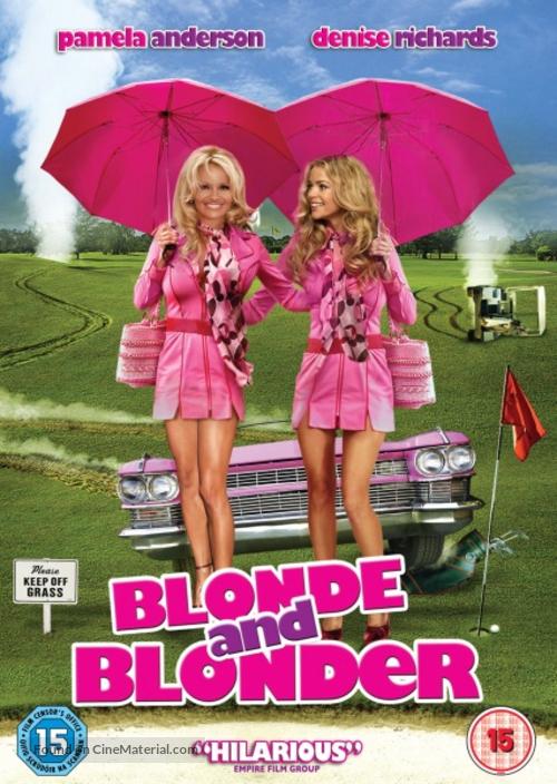 Blonde and Blonder - British DVD movie cover