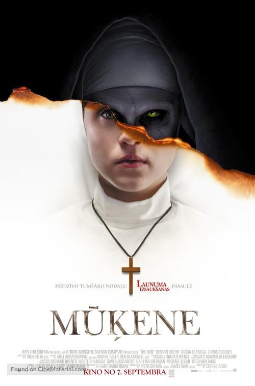The Nun - Latvian Movie Poster