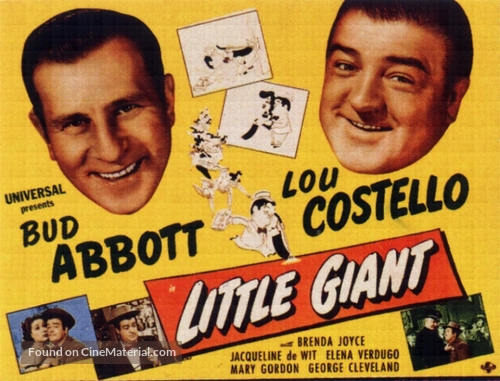Little Giant - British poster