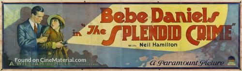The Splendid Crime - Movie Poster