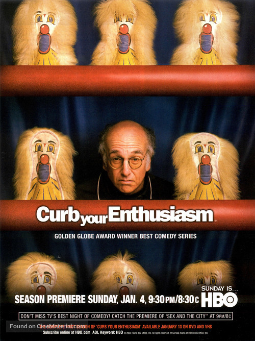 """""""Curb Your Enthusiasm"""" - Movie Poster"""