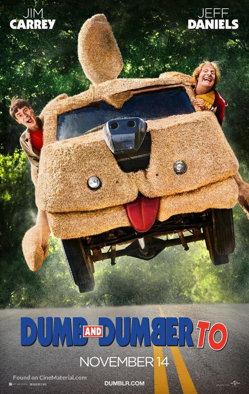 Dumb and Dumber To - Movie Poster