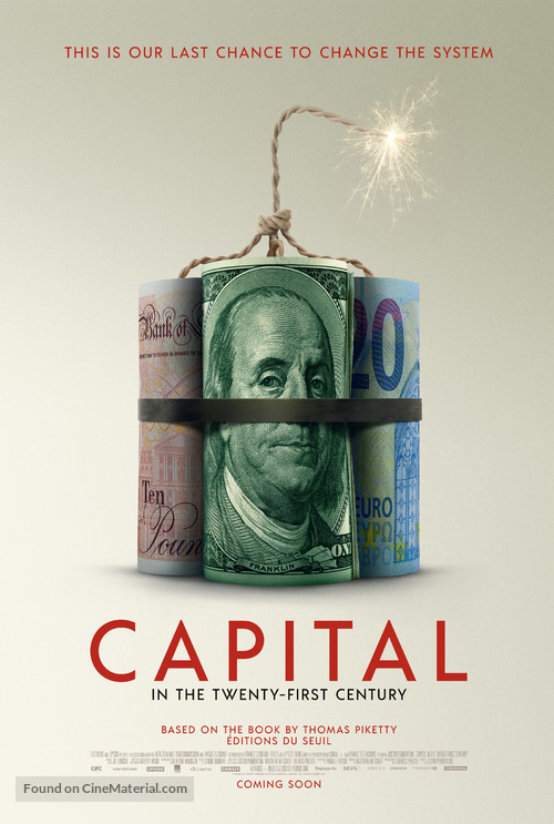 Capital in the Twenty-First Century - International Movie Poster