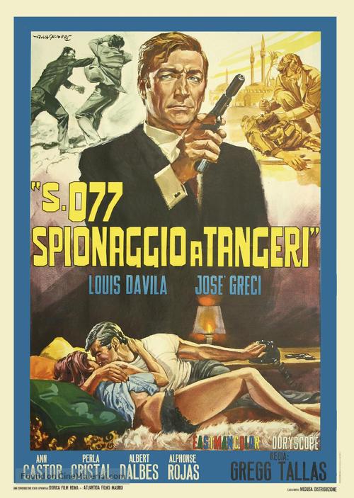 Marc Mato, agente S. 077 - Italian Movie Poster