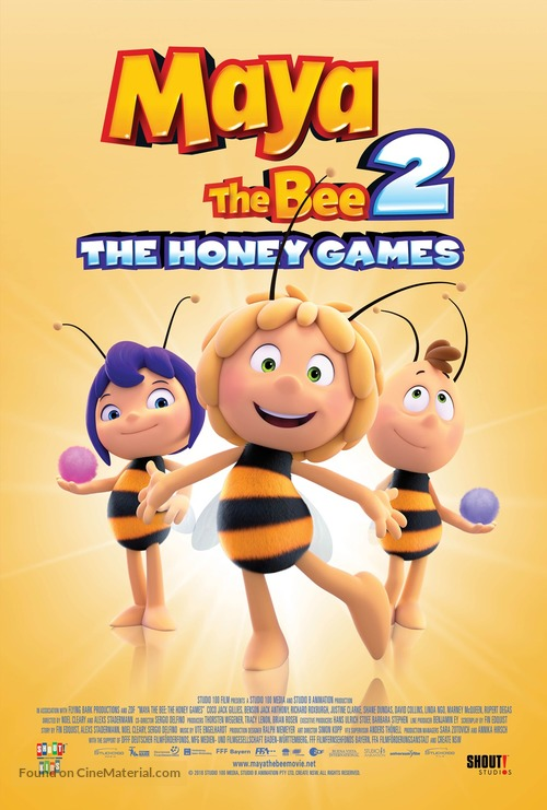 Maya the Bee: The Honey Games - Movie Poster