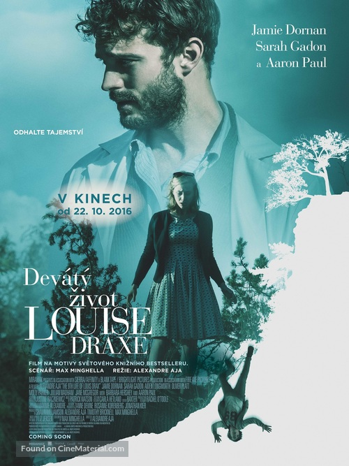 The 9th Life of Louis Drax - Czech Movie Poster