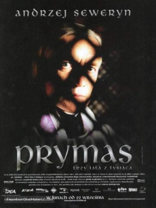 Prymas - trzy lata z tysiaca - Polish poster