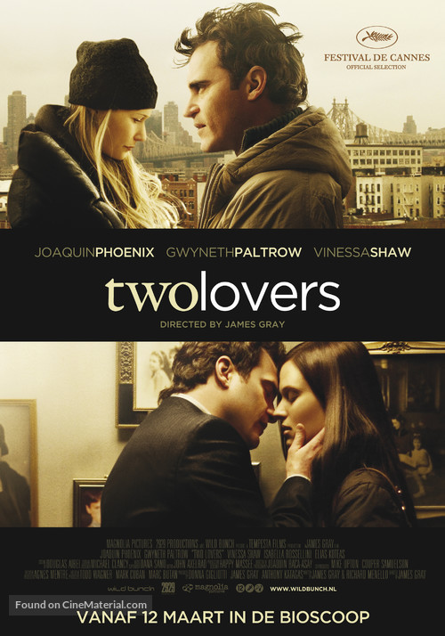 Two Lovers - Dutch Movie Poster