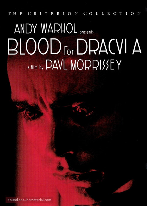 Blood for Dracula - DVD movie cover
