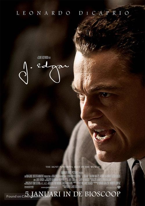 J. Edgar - Dutch Movie Poster