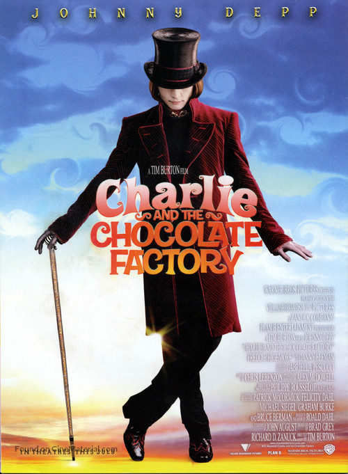 Charlie and the Chocolate Factory - Movie Poster