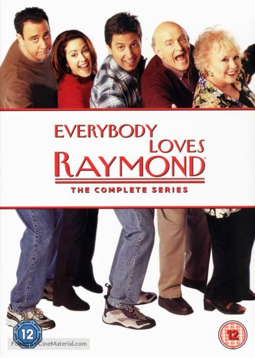 """Everybody Loves Raymond"" - British DVD movie cover"