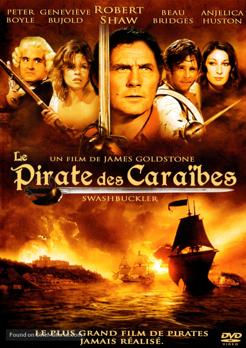 Swashbuckler - French Movie Cover