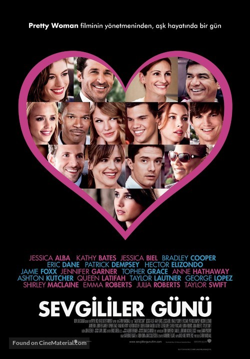 Valentine's Day - Turkish Movie Poster