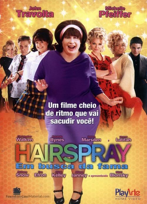 Hairspray - Brazilian DVD movie cover
