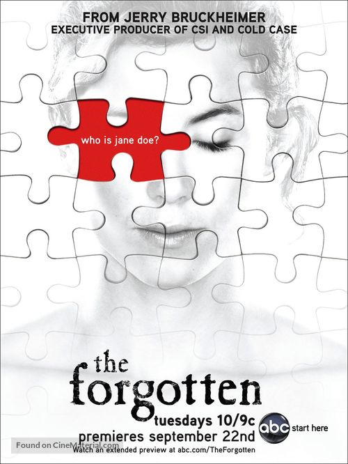 """""""The Forgotten"""" - Movie Poster"""