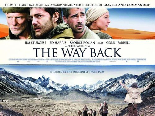 The Way Back - British Movie Poster