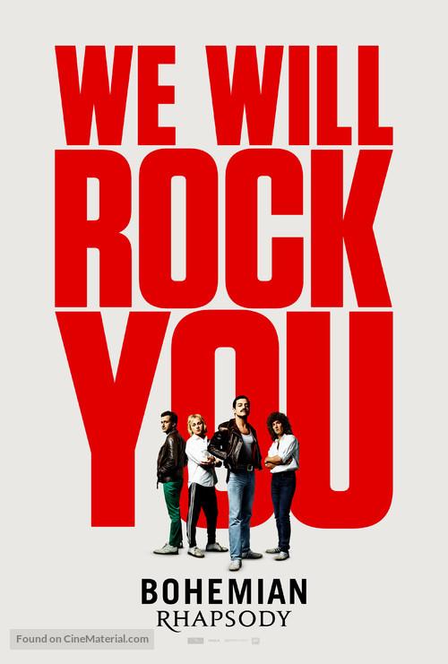 Bohemian Rhapsody - Norwegian Movie Poster