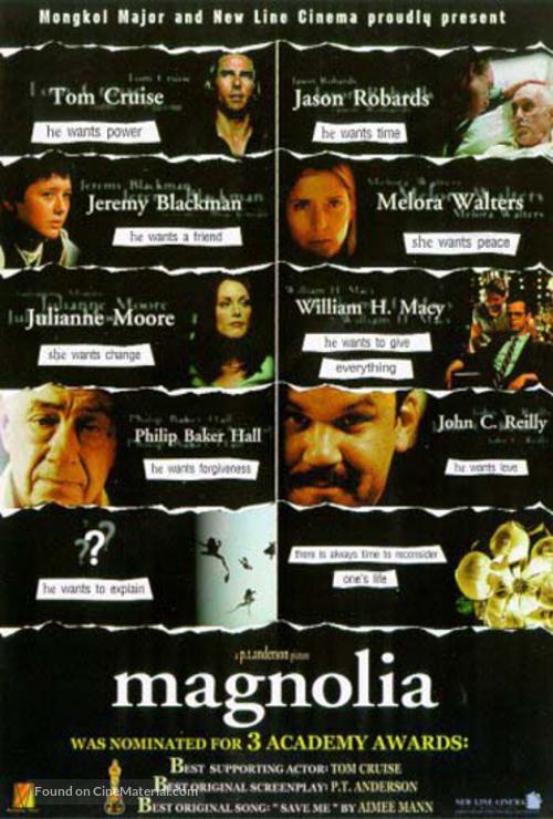 Magnolia - Thai Movie Poster