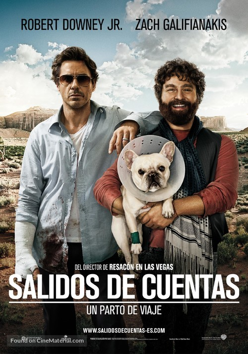 Due Date - Spanish Movie Poster