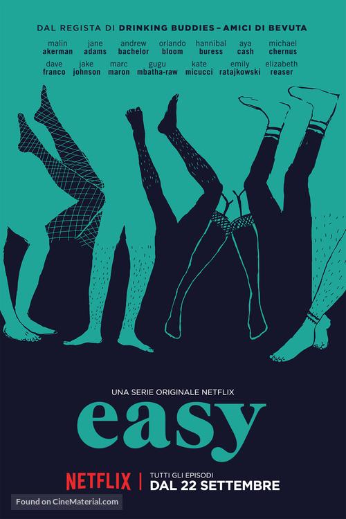 """Easy"" - Italian Movie Poster"