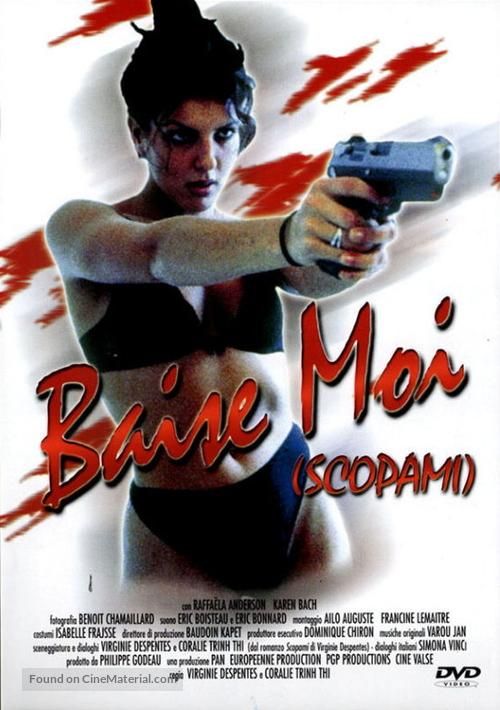 Baise-moi - Italian DVD movie cover