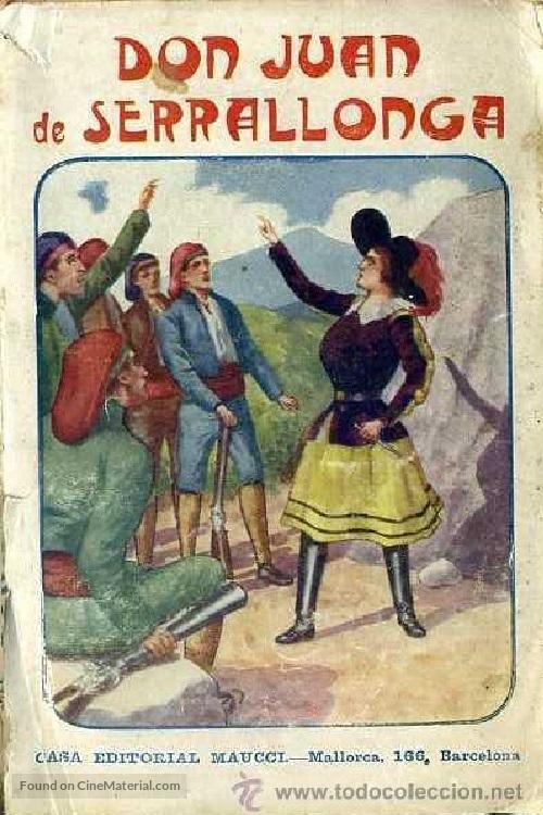 Don Juan de Serrallonga - Spanish Movie Poster