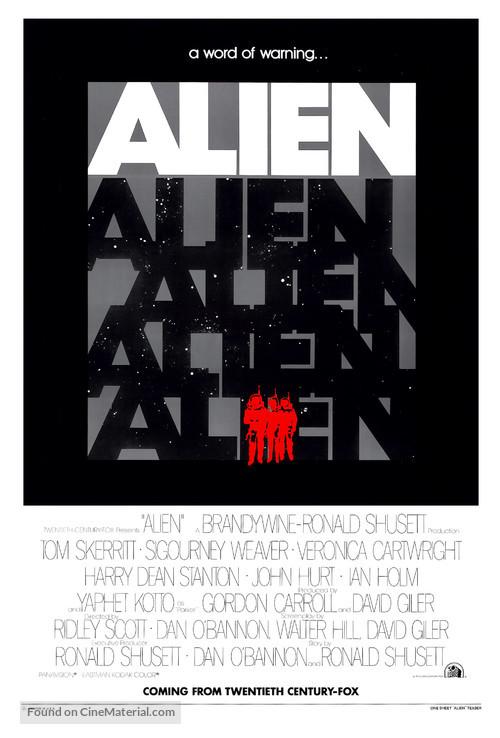 Alien - Advance poster