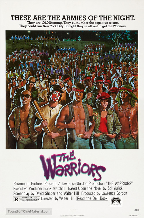 Image result for warriors 1979 poster