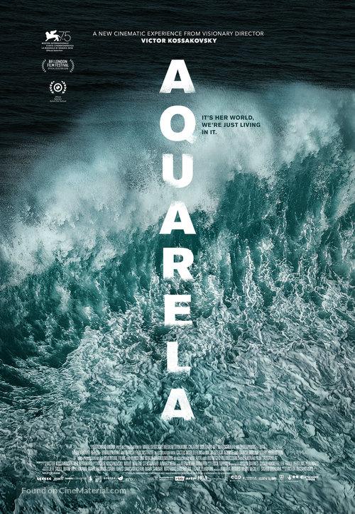 Aquarela - British Movie Poster