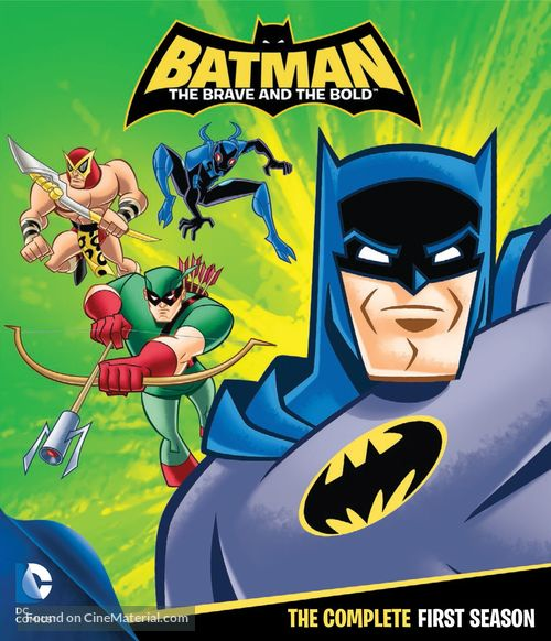 """""""Batman: The Brave and the Bold"""" - Blu-Ray movie cover"""