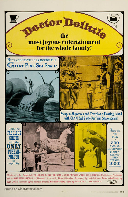 Doctor Dolittle - Movie Poster