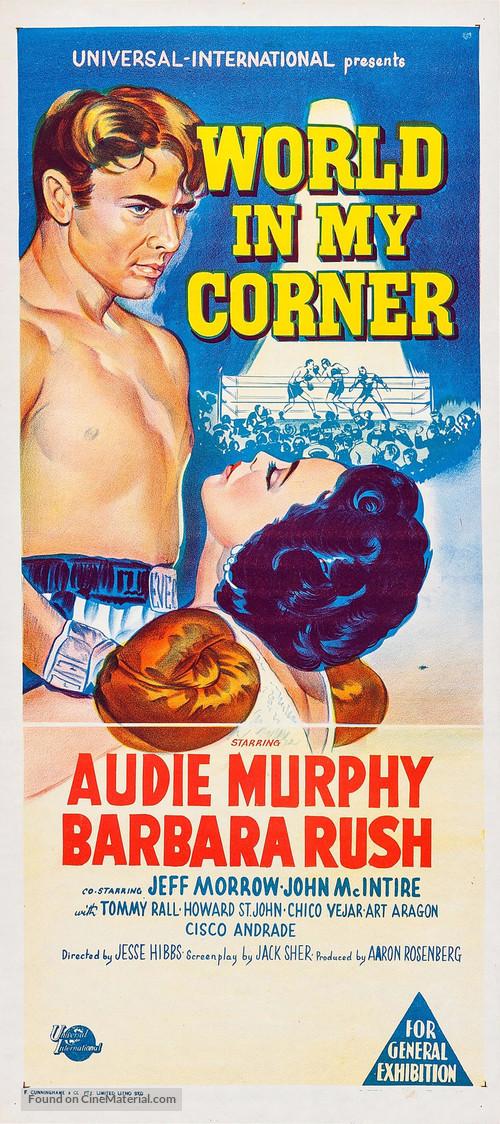 World in My Corner - Australian Movie Poster