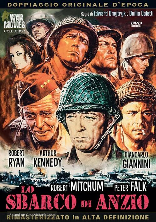 Lo Sbarco di Anzio - Italian DVD movie cover