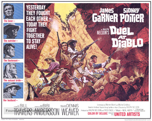 Duel at Diablo - Movie Poster