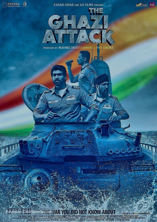 The Ghazi Attack - Indian Movie Poster